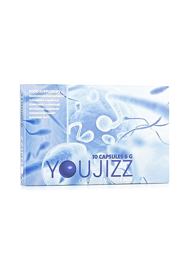 Pharmquests Youjizz for men - 10 capsules