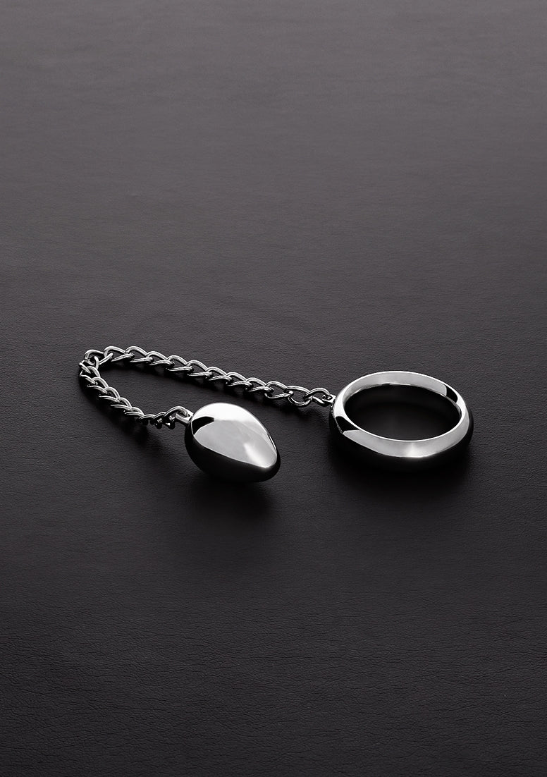 Donut C-Ring Anal Egg (40/30mm) with chain