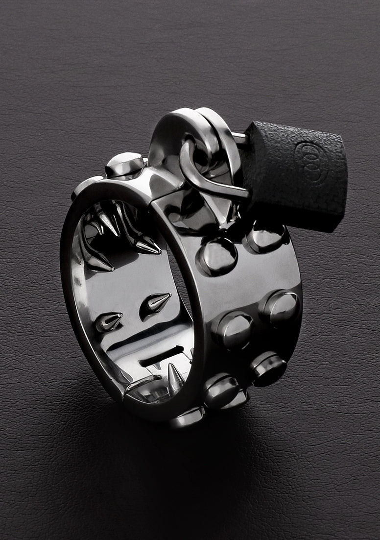 Kalis Teeth Spiked Chastity Device -  Large