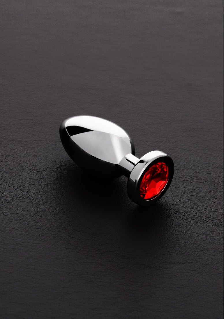 Jeweled Butt Plug RED -Small