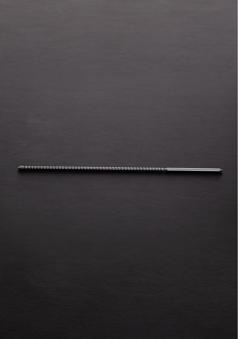 DIP STICK Ribbed  (4x240mm) - Brushed Steel