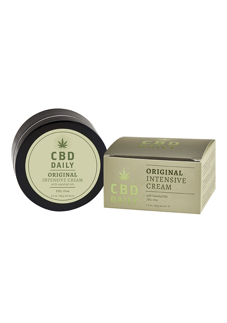 CBD Daily Original Strength Intensive Cream - 1.7 oz / 48 g