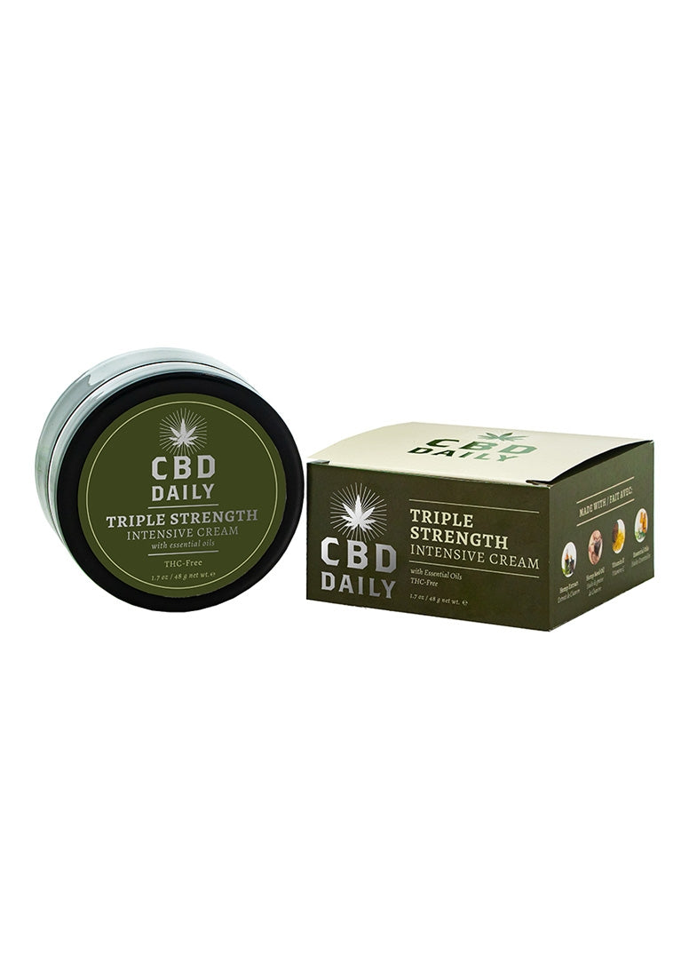 CBD Daily Triple Strength Intensive Cream - 1.7 oz / 48 g