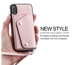 iPhone Leather Wallet Case - rulesfitness