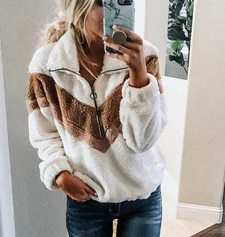 Women Fleece Sweatshirt - rulesfitness