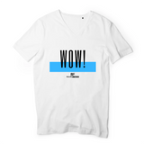 Rulesfitness WOW V-Neck T-Shirt - rulesfitness
