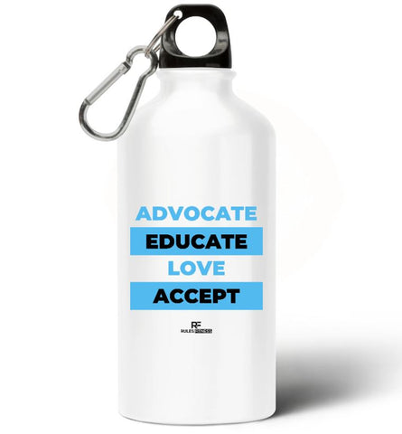 Rulesfitness Advocate Aluminium Water Bottle