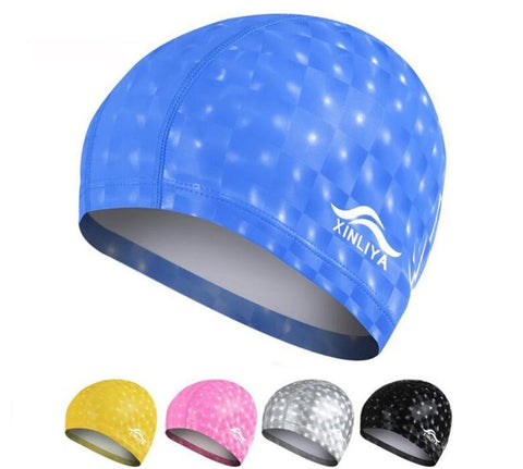 Waterproof Swimming Cap - rulesfitness
