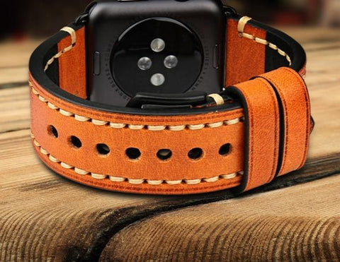 High Quality Leather Band For Apple Watch - rulesfitness