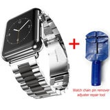 Stainless Steel Strap For Apple Watch - rulesfitness