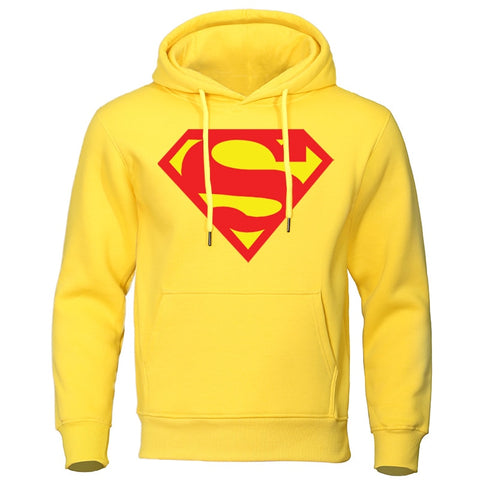 Hooded Supermann Sweatshirt - rulesfitness