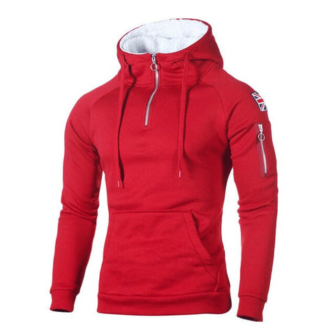 Men Hooded Jacket - rulesfitness