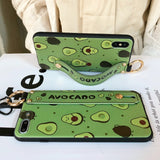 Avocado Pattern Iphone Case - rulesfitness