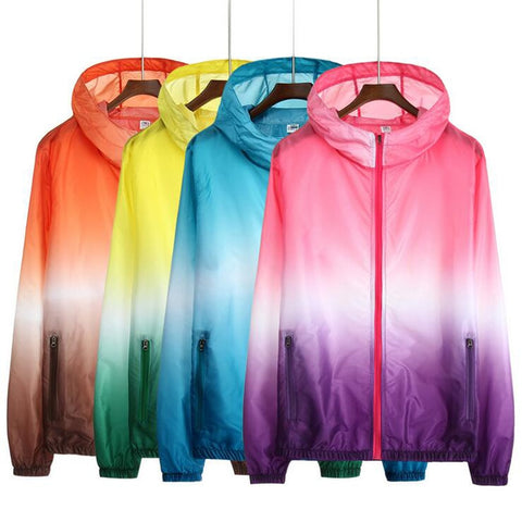 Unisex Hooded Light Jacket - rulesfitness