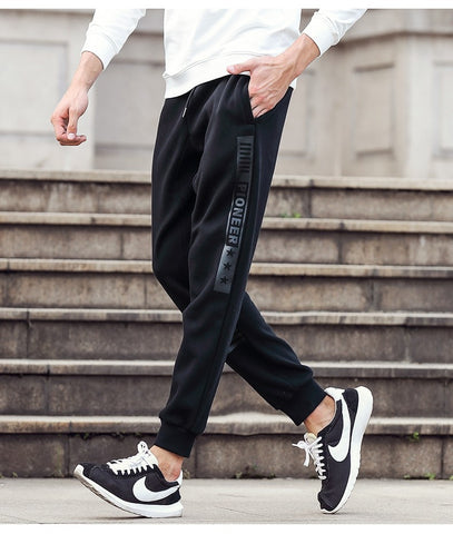 Men Drawstring Pants - rulesfitness