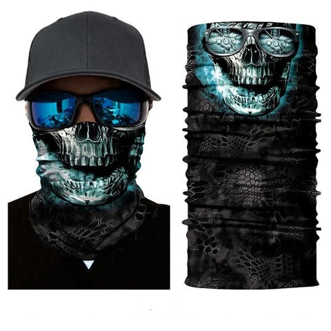 Tube Scarf Skull Face Picture - rulesfitness