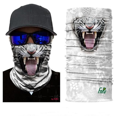 Tube Scarf Face Tiger Picture