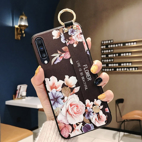Floral Pattern Case For Samsung Galaxy - rulesfitness