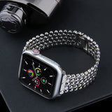 Stainless Steel Apple Watchband - rulesfitness