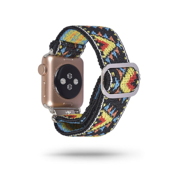 Scrunchie Elastic Strap For Apple Watch - rulesfitness