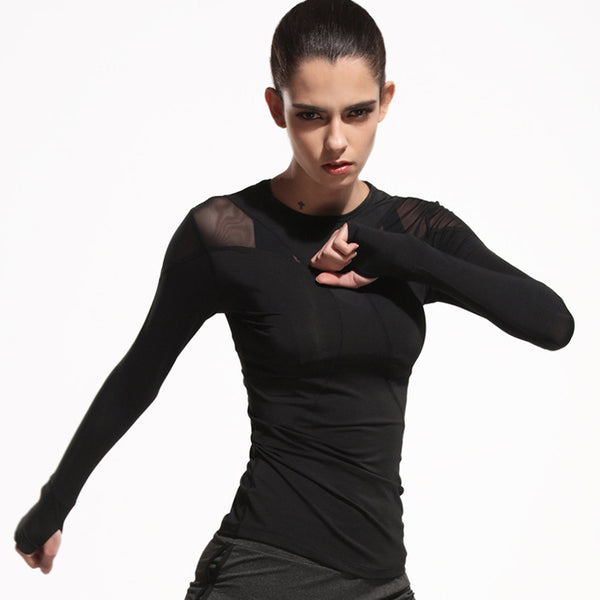 Sexy Fitness Mesh Shirt - rulesfitness