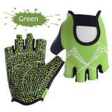 Maze Pattern Gym Gloves - rulesfitness