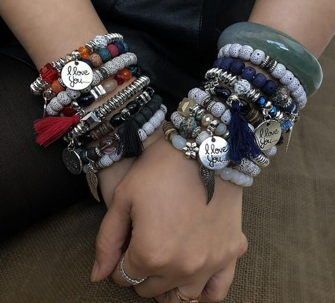 Fashion Multilayer Bracelet Set