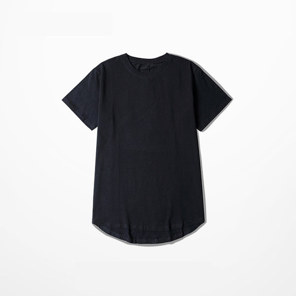 Plain Curved T-Shirt - rulesfitness