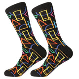 Colorful Cotton Socks - rulesfitness
