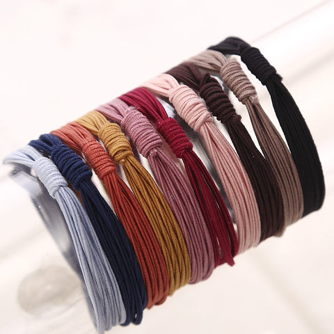 10Pcs. Colorful Hairband - rulesfitness
