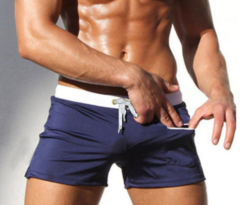 Slim Fit Trunks With Front Pocket - rulesfitness