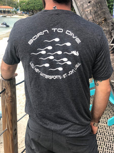 Low Key Born to Dive T-Shirt