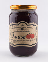 DISPONIBLE AU MOULIN -  Confiture Fraise - 380 g