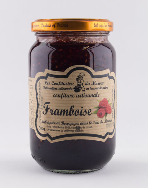 DISPONIBLE AU MOULIN -  Confiture Framboise - 380 g