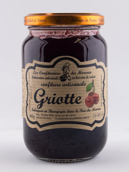 DISPONIBLE AU MOULIN -  Confiture Griotte - 380 g