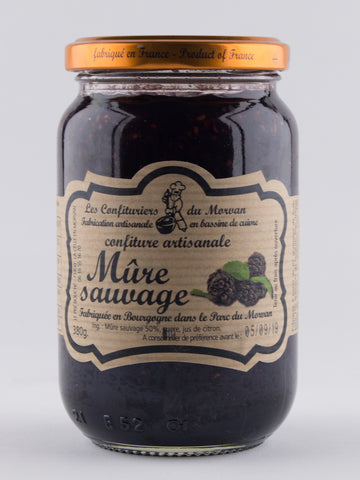 DISPONIBLE AU MOULIN -  Confiture Mûre Sauvage - 380 g