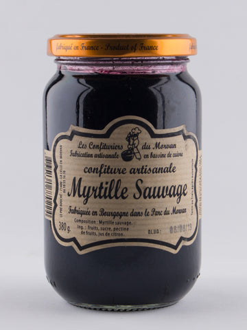 DISPONIBLE AU MOULIN -  Confiture Myrtille Sauvage