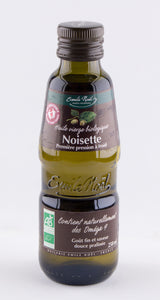 DISPONIBLE AU MOULIN - Huile de Noisette - 250mL