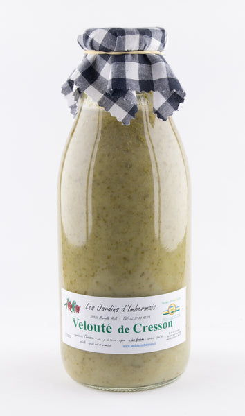 DISPONIBLE AU MOULIN  - Velouté Cresson - 1 L