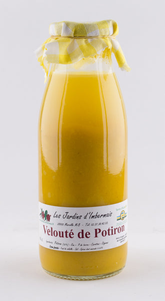 DISPONIBLE AU MOULIN  - Velouté Potiron - 50 cL