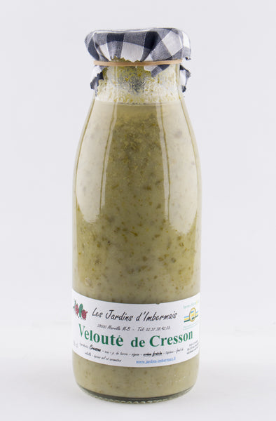 DISPONIBLE AU MOULIN  - Velouté Cresson - 50 cL