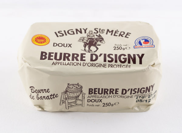 DISPONIBLE AU MOULIN - Beurre doux moulé main - 250 g
