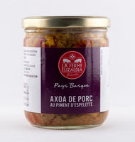 DISPONIBLE AU MOULIN -  Axoa de porc au piment d'espelette - 380 g