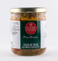 DISPONIBLE AU MOULIN -  Axoa de veau - 380 g