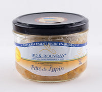 DISPONIBLE AU MOULIN -  Pâté de lapin - 180 g