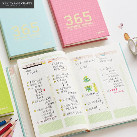 Day Planner Luxury Notebook