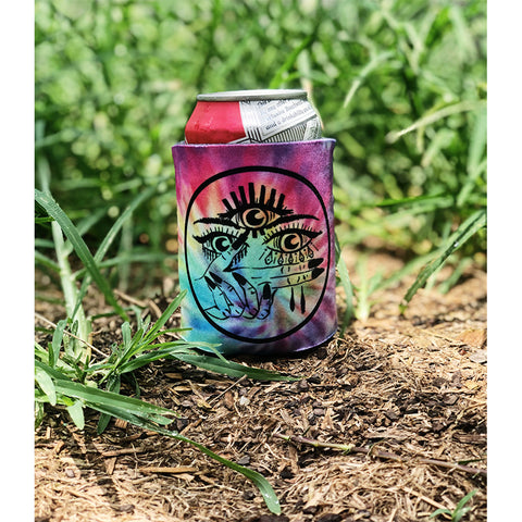 Field Party Tie-Dye Koozie
