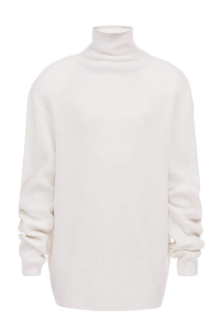 Woolen oversized sweater