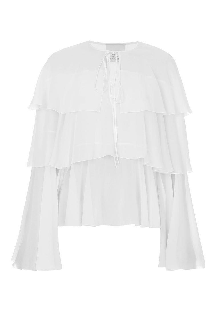 Frilled top