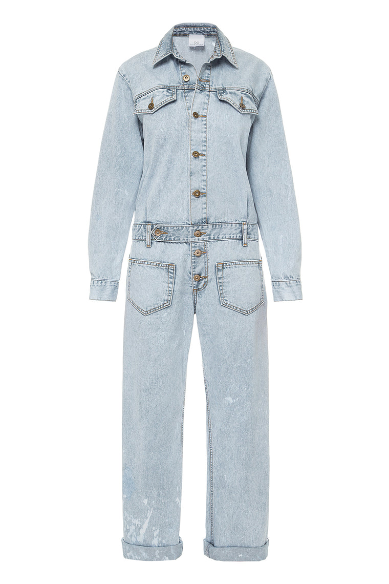 Denim jumpsuit